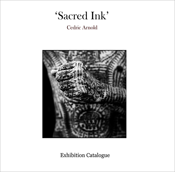 'Sacred Ink' exhibition catalogue cover