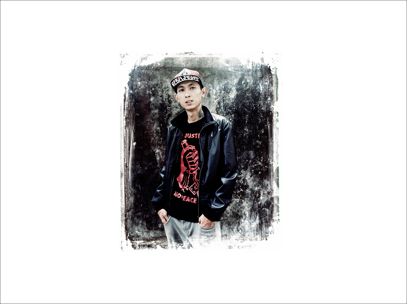 28 year old Rapper Pyi Tar of the Yangon rap outfit Cyclone