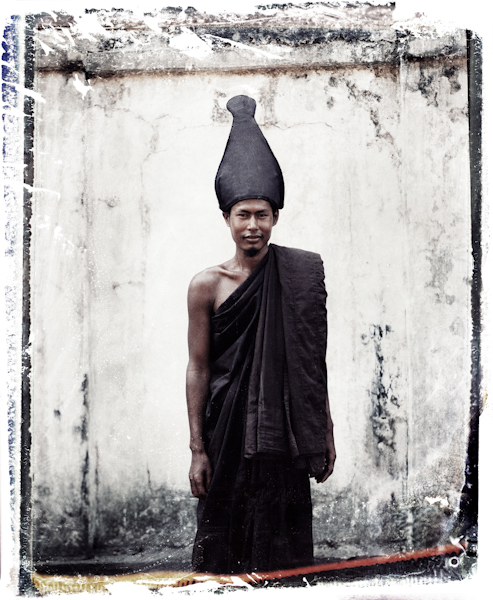 Ascetic Buddhist Monk